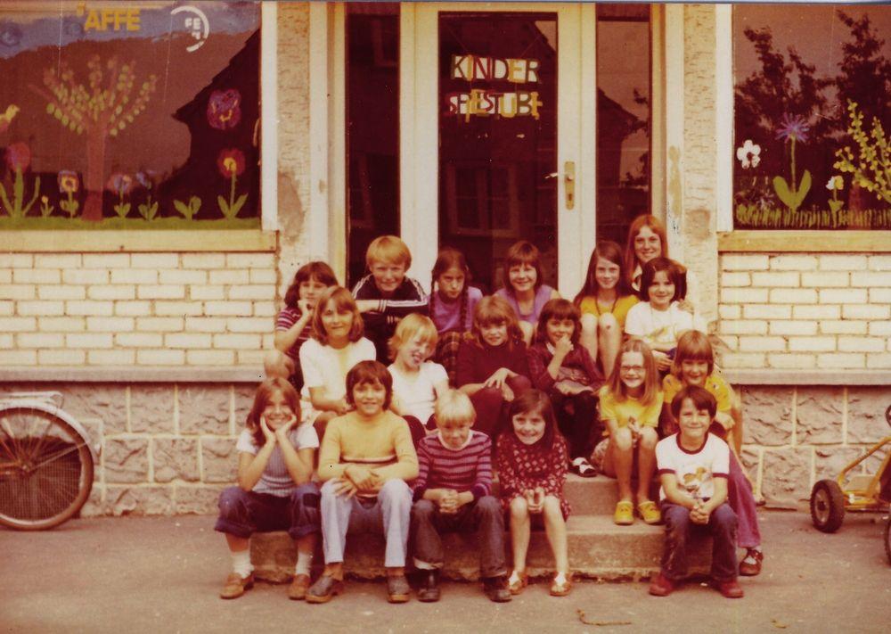 Spielstube Nachmittagsgruppe 1973